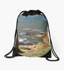 VIEW TO THE PACIFIC Drawstring Bag