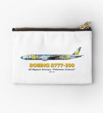 """Boeing B777-300 - All Nippon Airways """"Pokémon Peace Jet"""" Studio Pouch"""