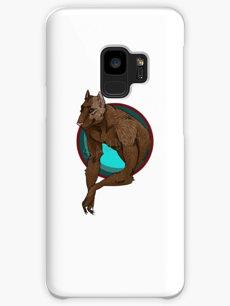 dog/wolf phone case by Daddysawdek
