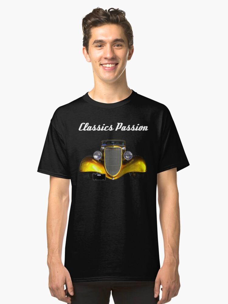 Classics Passion 012 Hot Rod Classic T-Shirt Front