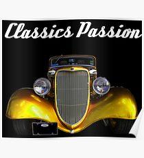 Classics Passion 012 Hot Rod Poster
