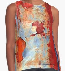 Beauty of damage abstract Contrast Tank