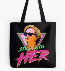 Hillary Rodham Clinton Retro Vibes Tote Bag