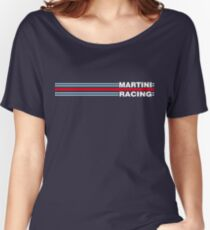 Martini Racing horizontal stripe Women's Relaxed Fit T-Shirt