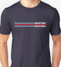 Martini Racing horizontal stripe Slim Fit T-Shirt