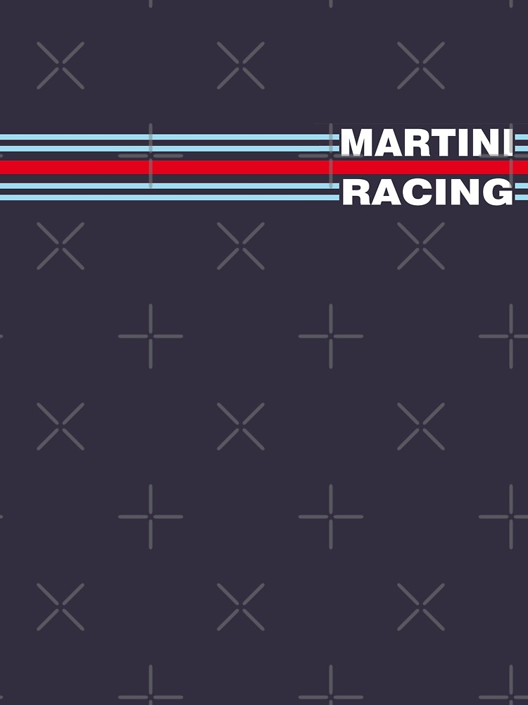 Martini Racing horizontal stripe by JRLdesign