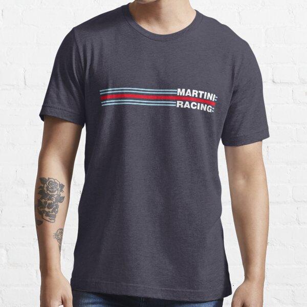 Martini Racing horizontal stripe Essential T-Shirt