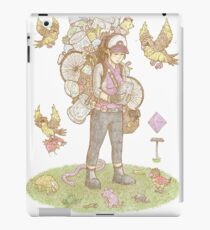 GO TRAINER female iPad Case/Skin