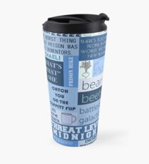The Office - Quotes Graphic Travel Mug