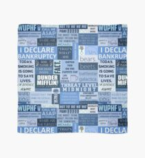 The Office - Quotes Graphic Scarf