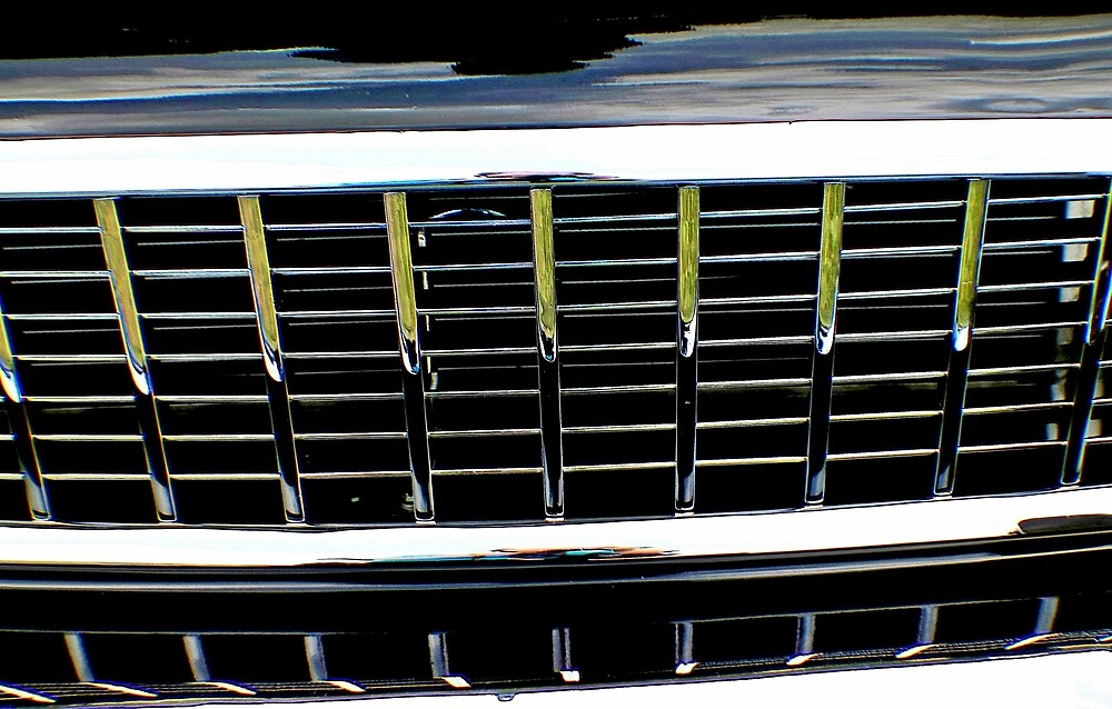 Car grille bump map by Karl Rose
