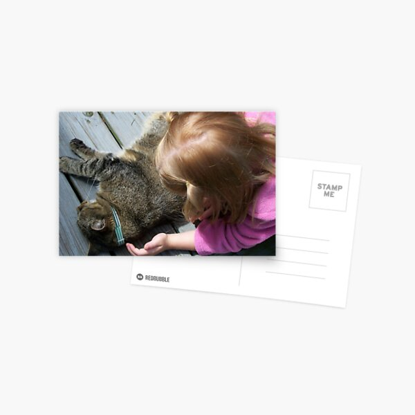 A Gentle Touch Postcard