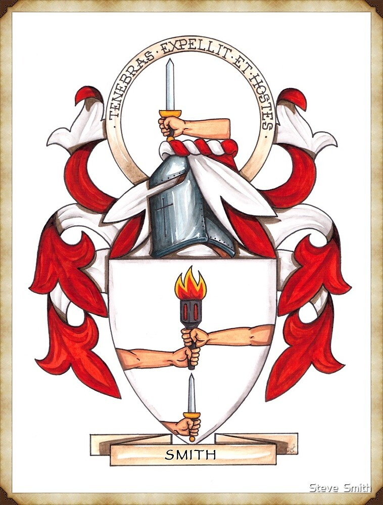 Smith Coat of Arms by heraldichistory