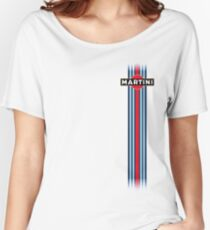 Martini Racing stripe Women's Relaxed Fit T-Shirt