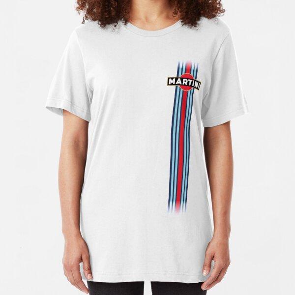 Martini Racing stripe Camiseta ajustada