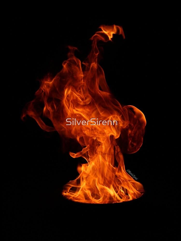 Flame Uprising by SilverSirenn