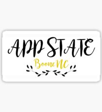 App State Frill Sticker