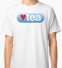 heart tea button Classic T-Shirt