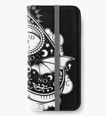 OUIJA Horror iPhone Flip-Case/Hülle/Skin