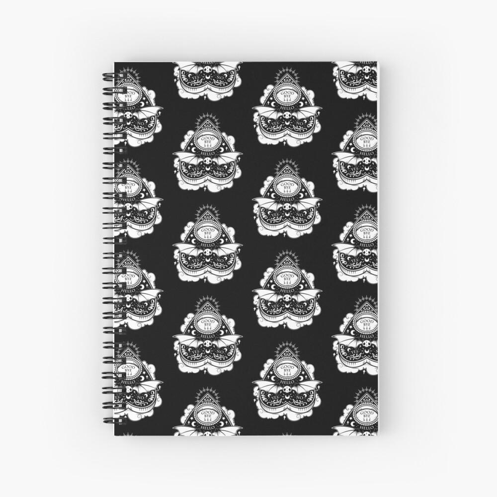 OUIJA Horror Spiral Notebook