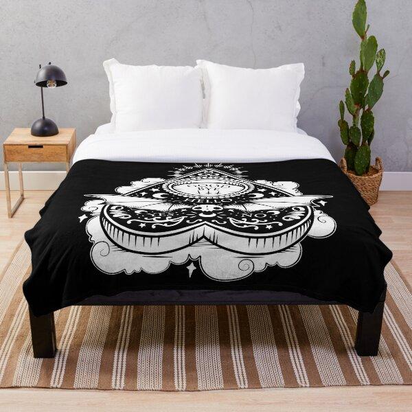 OUIJA Horror Throw Blanket