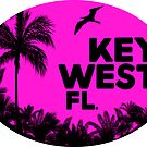 KEY WEST FLORIDA RETRO BEACH OCEAN TRAVEL by MyHandmadeSigns