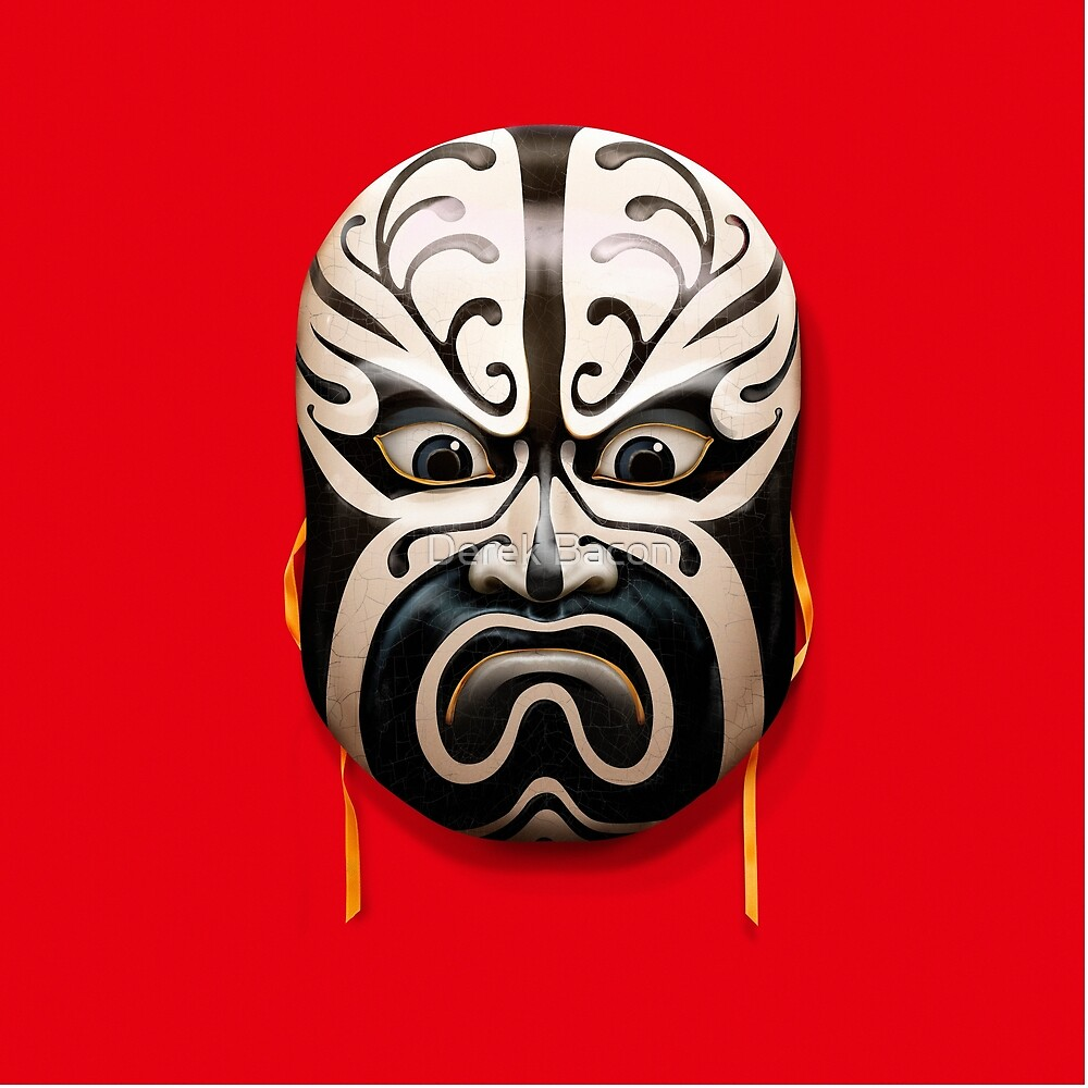 Chinese mask by Derek Bacon