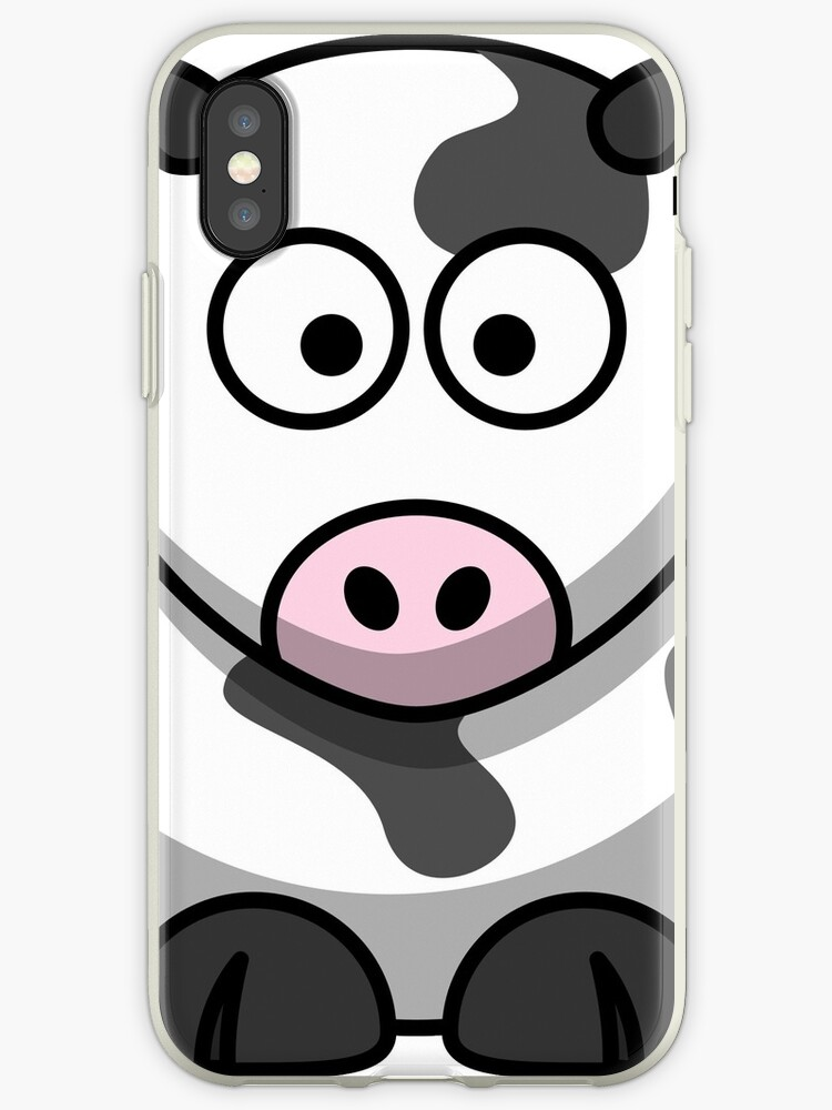 COW Case Iphone by Patrik Šmiga