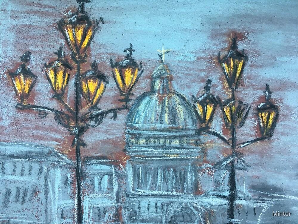 Street lanterns  by Mintdr