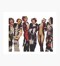 Cats the musical Photographic Print