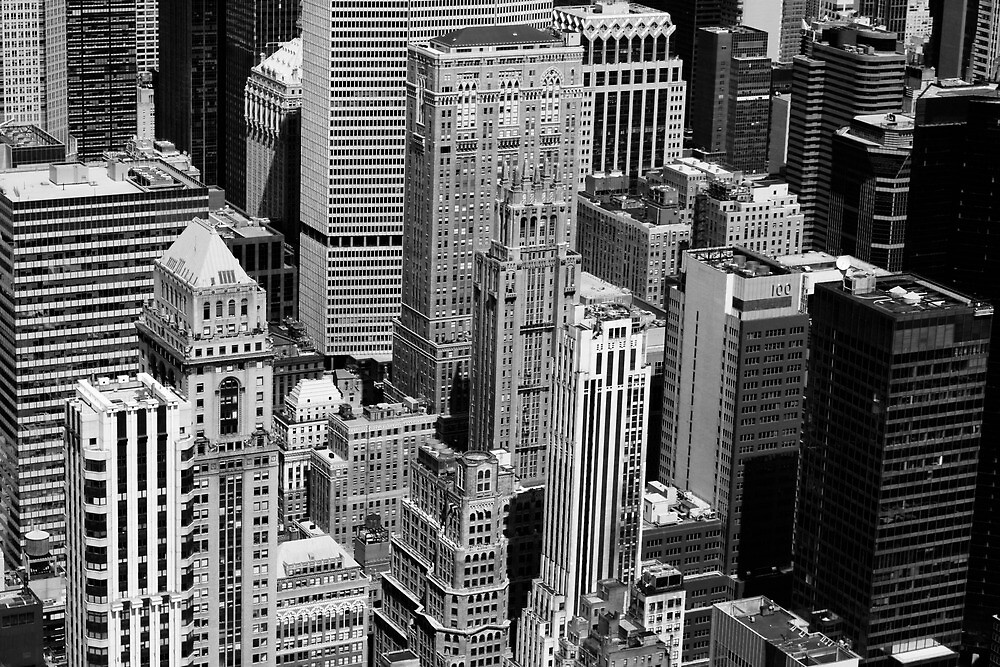 Black and White New York by chantalmarie