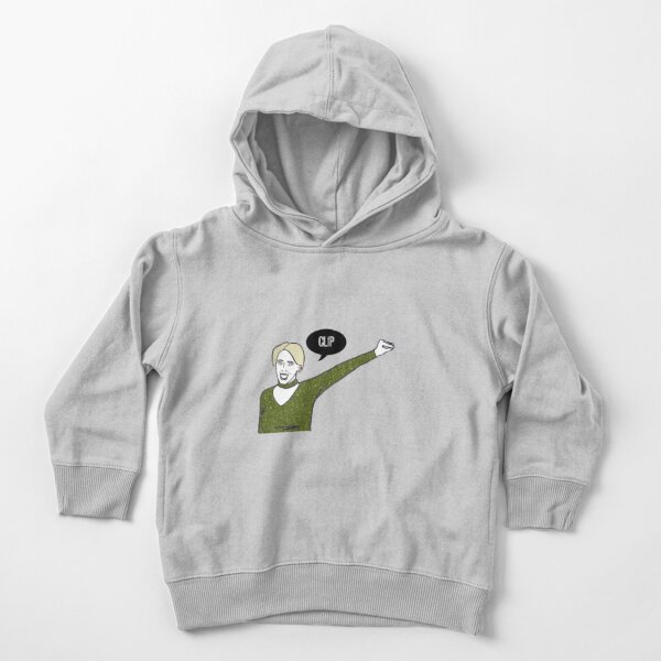 Clip Toddler Pullover Hoodie