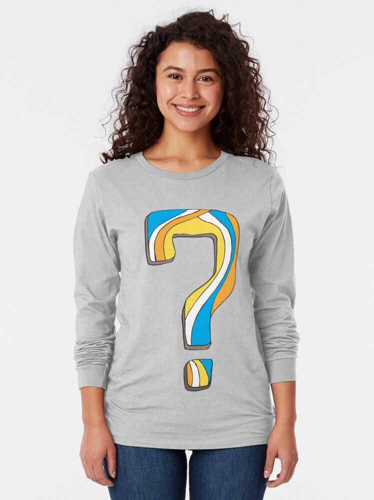 Alternate view of Why? Long Sleeve T-Shirt