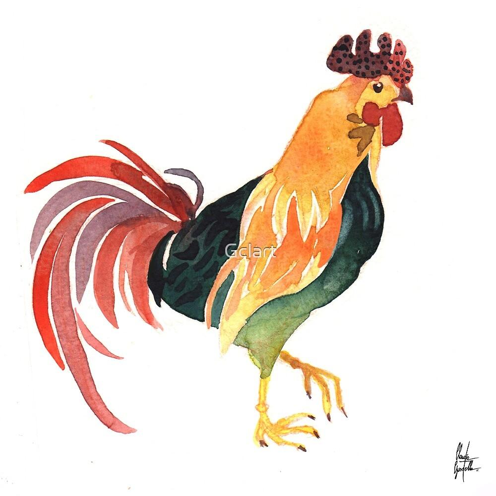 Funky chicken 5 by Gclart