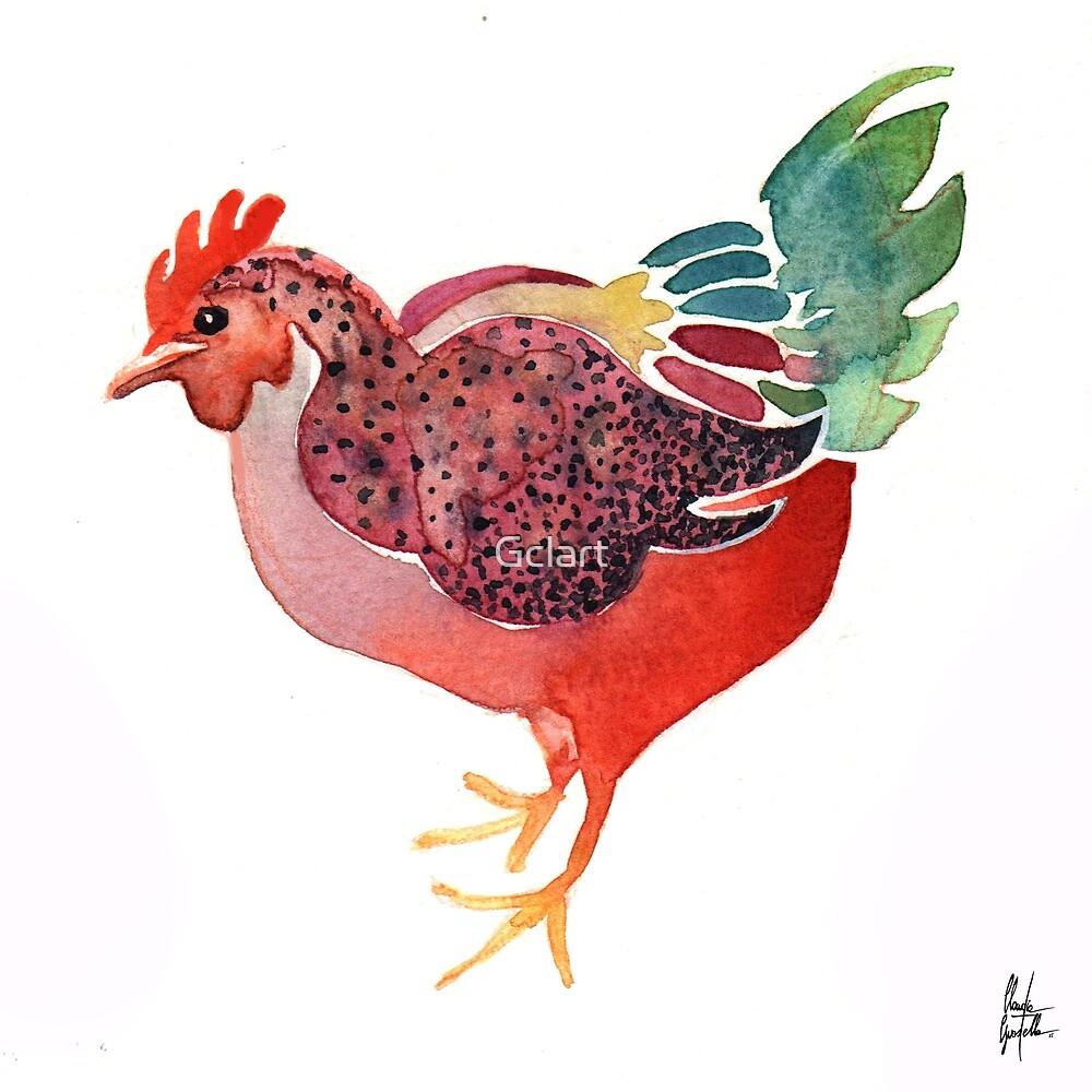 Funky chicken 6 by Gclart
