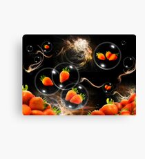 strawberry atmosphere Canvas Print