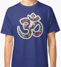 Namaste-Blumenyoga-Symbol Classic T-Shirt
