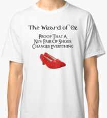 Wizard of Oz Dorothy's Shoes Classic T-Shirt