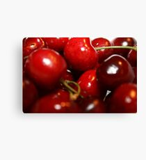 You're the cherry in my eye Canvas Print
