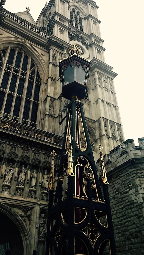 London Lamp Post by chantalmarie