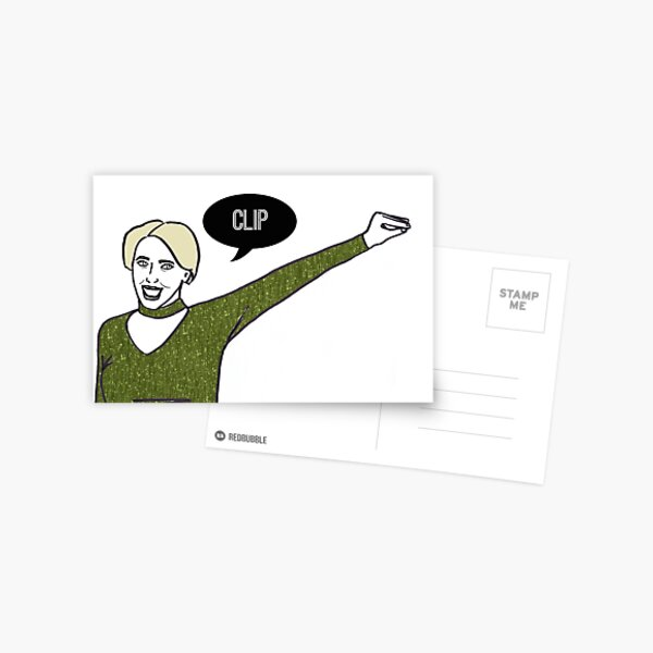 Clip Postcard