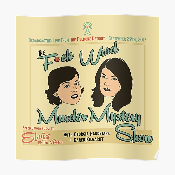 Detroit F*ck-Word Murder Mystery Show Poster
