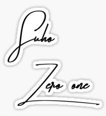 suho (junmyeon) exordium shirt Sticker