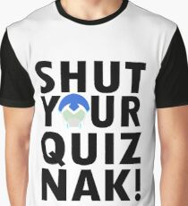 Voltron Inspired Shut Your Quiznak Quote Graphic T-Shirt