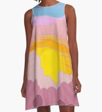 Sunrise Surprise A-Line Dress