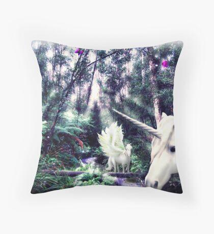 Amaltheas Enchanted Home Throw Pillow