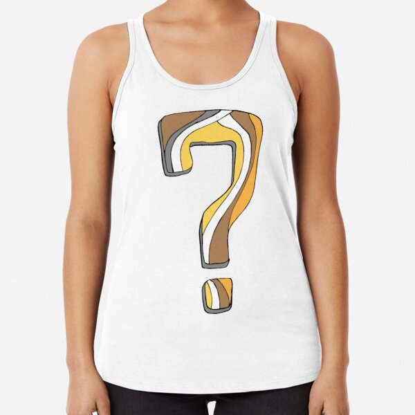 What did I do? Racerback Tank Top