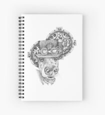 Steampunk Anubis Spiral Notebook
