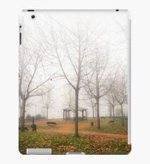 Invierno nebuloso iPad Case/Skin