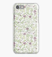 Floral Watercolour Print iPhone Case/Skin